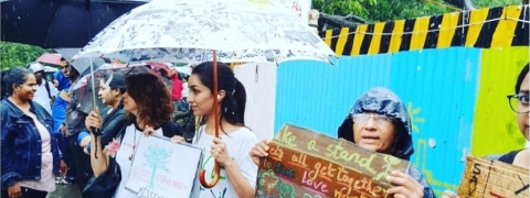 Shraddha Kapoor joins the Protest to save Aarey Forest