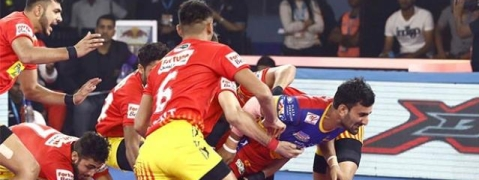 PKL: UP Yoddha beat Gujrat Fortunegiants 33-26