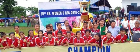 Manipur clinch 25th Senior Women's National Football Championship