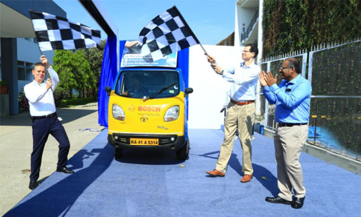 Bosch launches experiential mobile vans across multi-cities