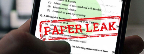 Police registers complaint in RRB exam leak
