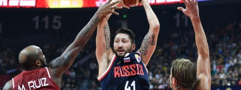 Russia outplays Venezuela for 3rd win at FIBA World Cup