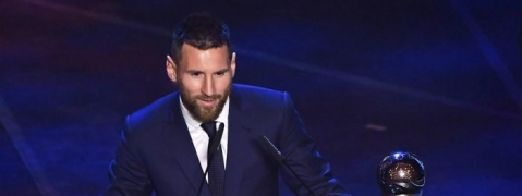 Messi awarded FIFA Player of the Year