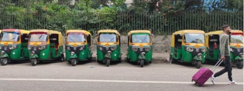 Cabs, autos, buses on strike against traffic fine hike