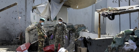 22 killed, 38 hurt in Kabul suicide attack
