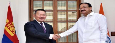 Naidu calls for expanding ties with Mongolia in renewable energy, IT