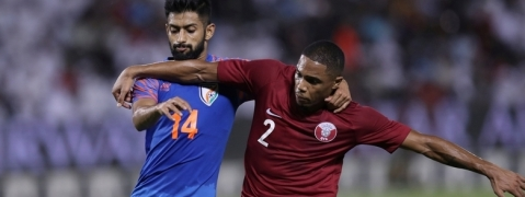 India hold Asian Champs Qatar to goal-less draw in FIFA WC qualifiers
