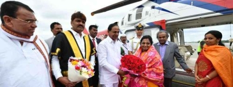 Telangana's new Governor Soundarajan arrives