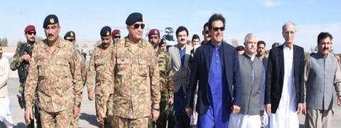 Pak PM, Army chief visit LoC