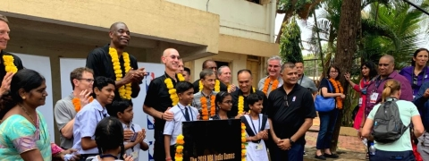 NBA, Pacers & Kings lay foundation for Legacy Project in Mumbai