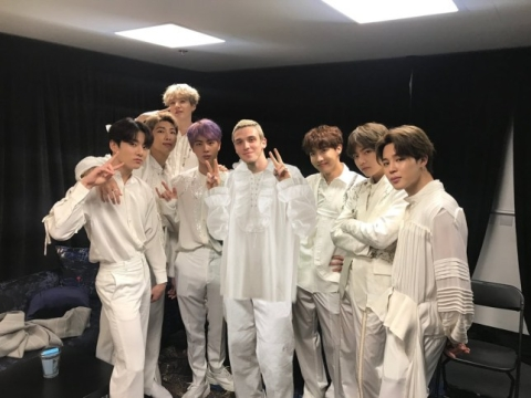 BTS' song 'Make It Right' featuring Lauv launched