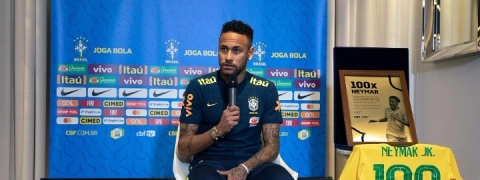Neymar poised for 100th Brazil appearance