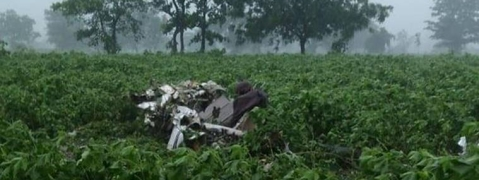 Trainee pilot killed as aircraft crashes in Telangana