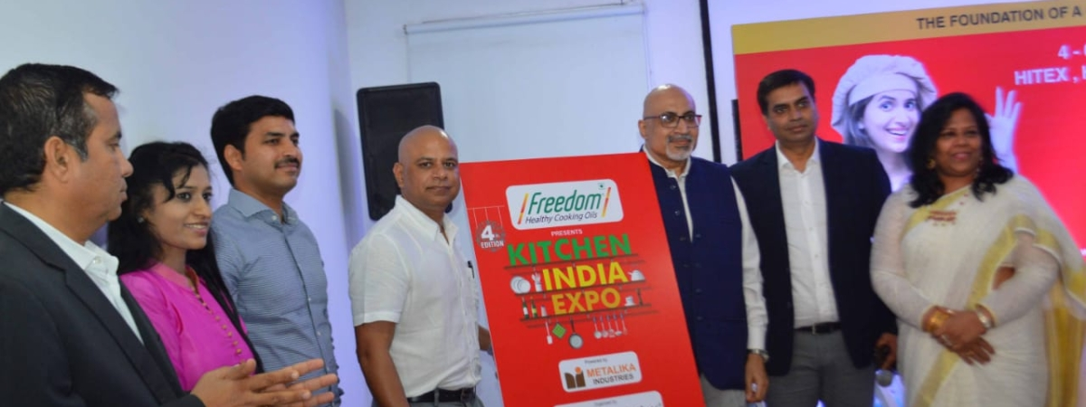 Three-day 'Freedom Kitchen India Expo 2019' in Hyd from Oct 4