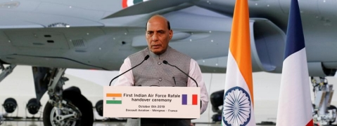 A historic day, says Rajnath Singh