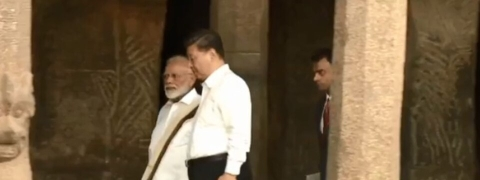 PM receives Chinese president on cultural tour in Mamallapuram