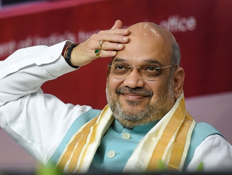 Modi govt broke back of Naxals: Shah