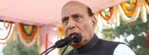 Rajnath flays Pak for 'excessive militarisation and wrong policies'