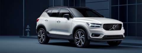 Fully electric Volvo XC40 SUV heralds new electric future