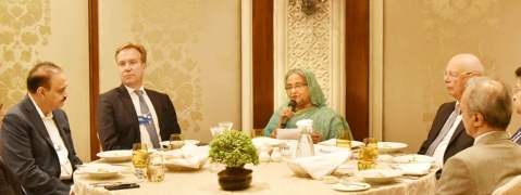 Bangladesh offers liberal investment environment: Hasina at WEF