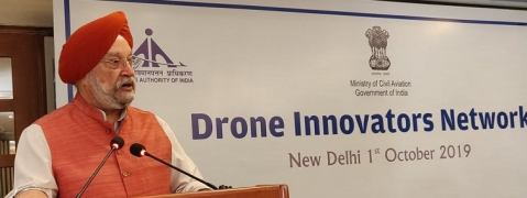 India will require strong technology for drone governance: Puri