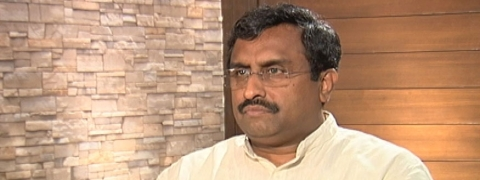 70 year-old mistake solved within 70 hours: Ram Madhav on Kashmir