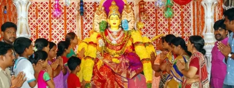 Dussehra celebrated with religious fervour across Telangana