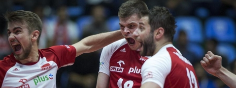 Poland tops Argentina at FIVB Volleyball Men's World Cup