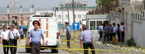 Many hurt in 3 Kyrgyzstan blasts