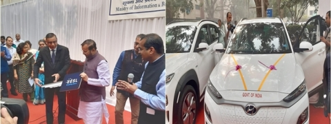 Govt to replace 5 lakh petrol, diesel cars by E-vehicles in phased manner
