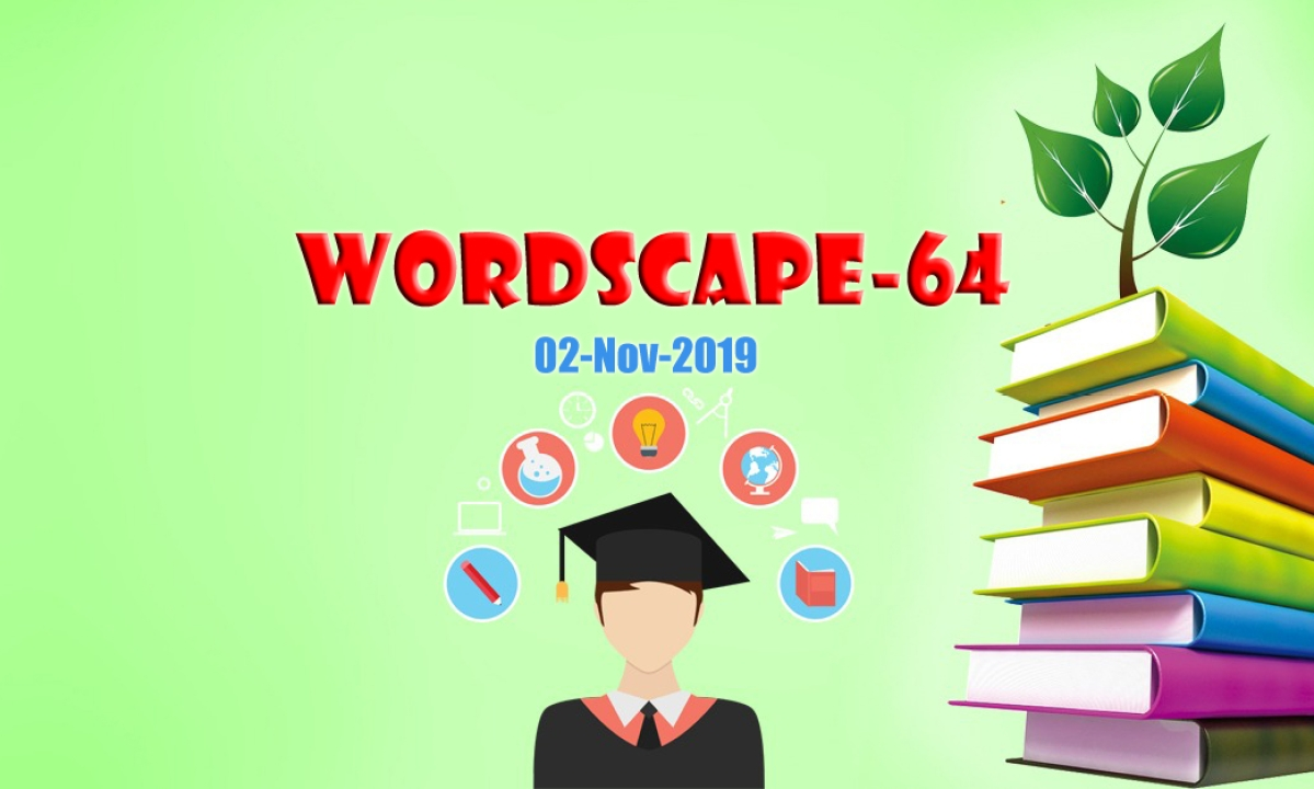 Wordscape-64: Know these words?