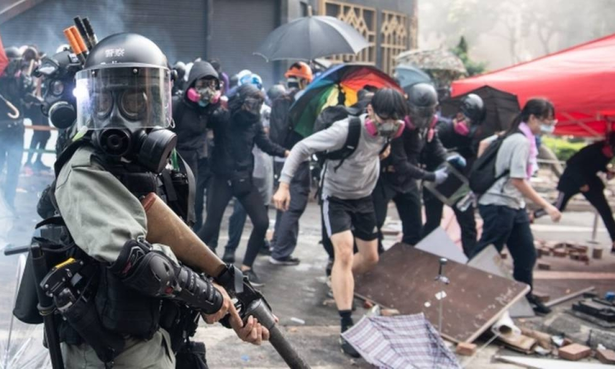 US Senate passes bill in support of Hong Kong protesters