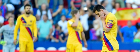 Barcelona lose and Real Madrid held at home in Spanish La Liga