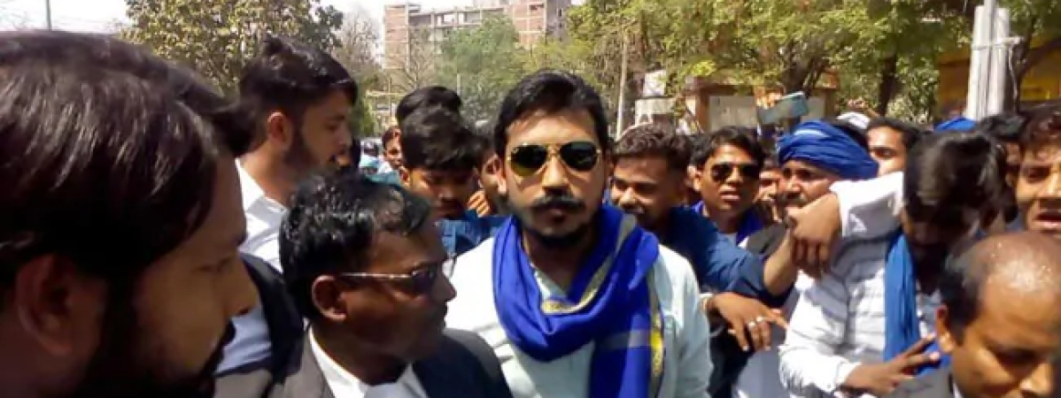 Bhim army chief gets bail in CAA violence case