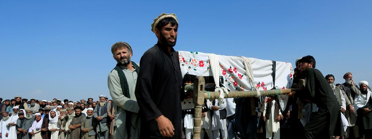 US drone strike kills 4 Taliban members in eastern Afghanistan