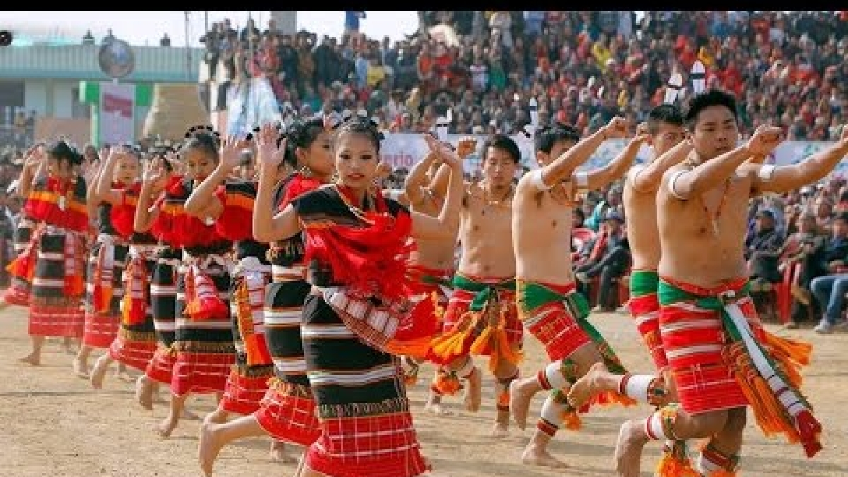 Seed sowing festival Lui-Ngai-Ni celebrated at Ukhrul