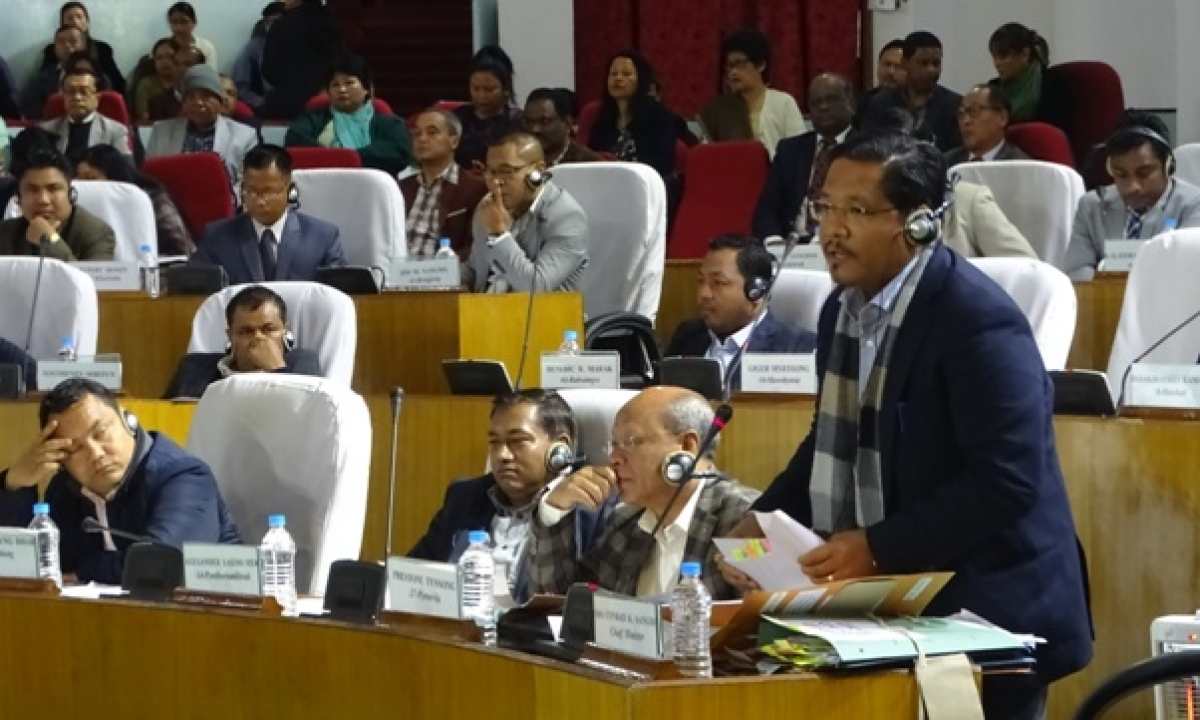 Meghalaya Budget session from Mar 13