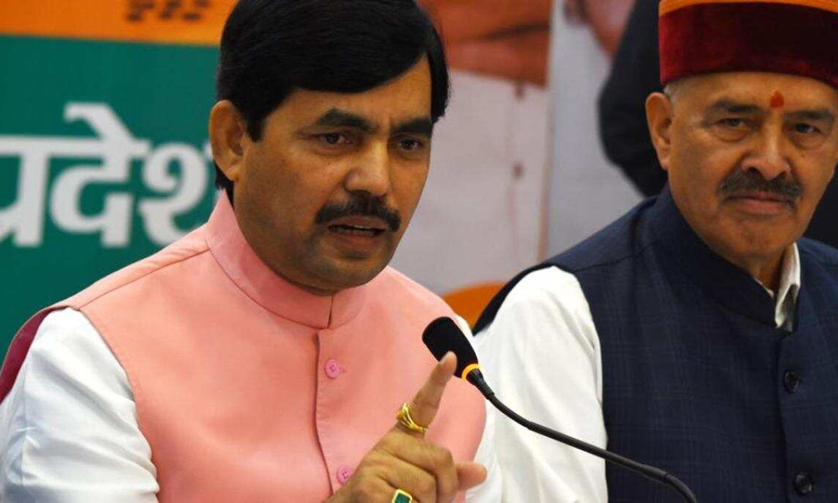 Young leaders being disrespected in Congress: Shahnawaz Hussain