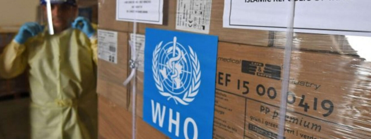 WHO delivers new shipment of medical supplies for COVID19 response to Iran