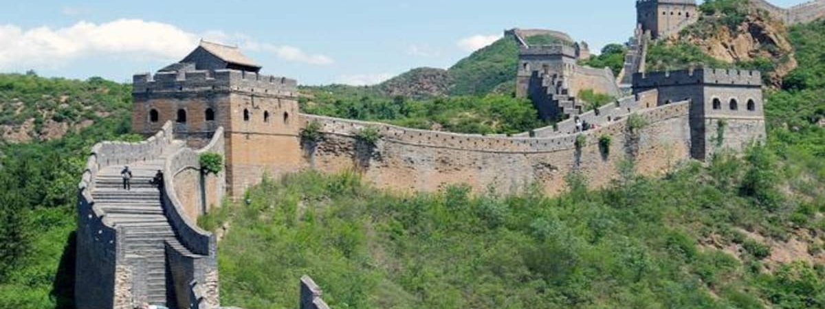 Part of Great Wall opened to tourists