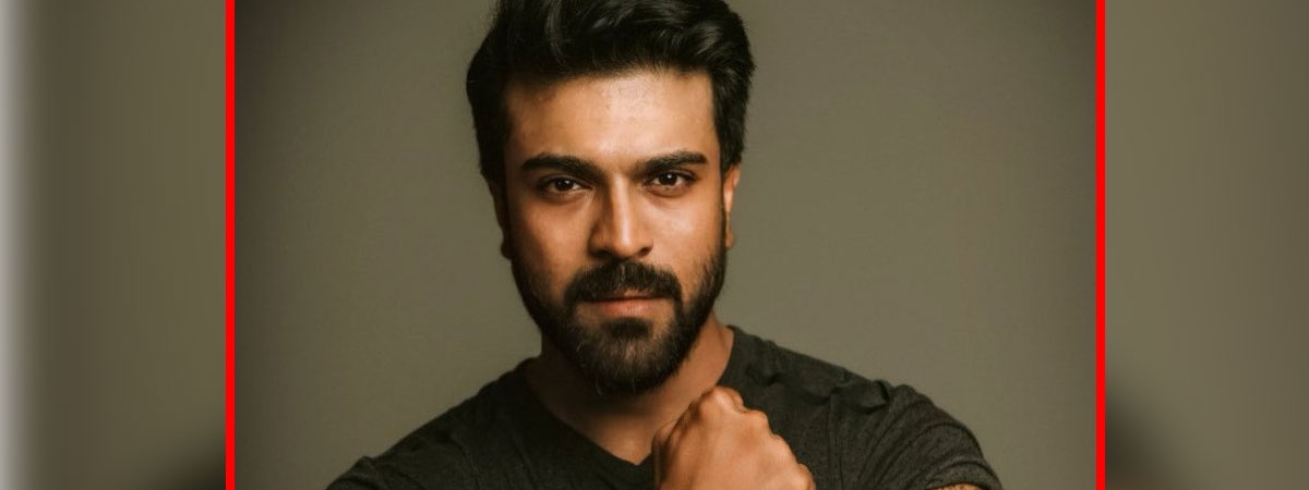 Ram Charan makes a debut on Twitter!
