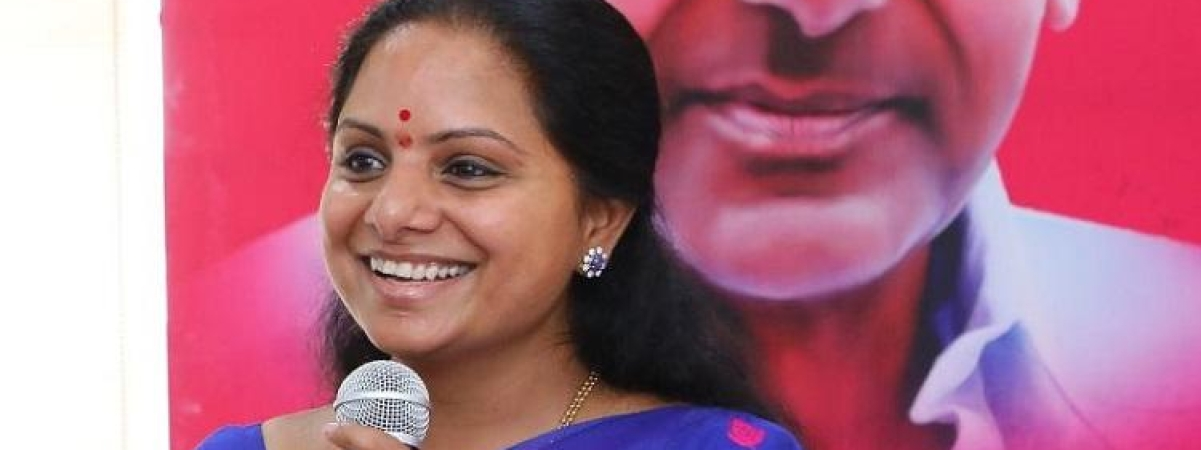 Bypoll : Kavitha files two sets of nomination papers for MLC seat