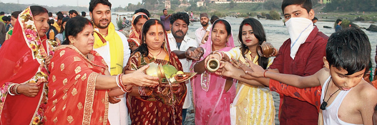 Low key Basanthi puja in Jharkhand
