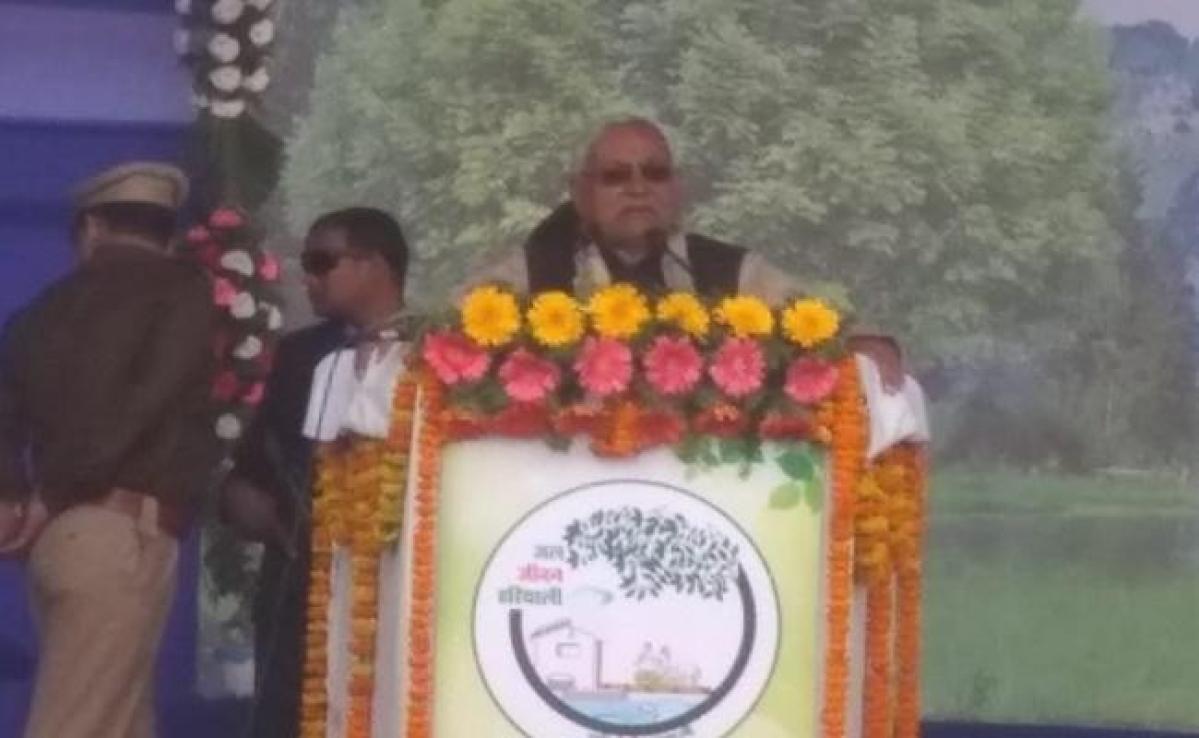 शिवहर में मुख्यमंत्री नीतीश कुमार ने रिमोट कंट्रोल से 167 योजनाओं का शिलान्यास एवं उद्घाटन किया