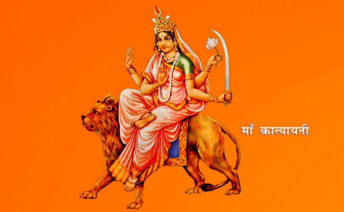 वासंतिक नवरात्र का छठा दिन, मां कात्यायनी की पूजा, अखिल ब्रह्मांड को उत्पन्न करती हैं मां कात्यायनी