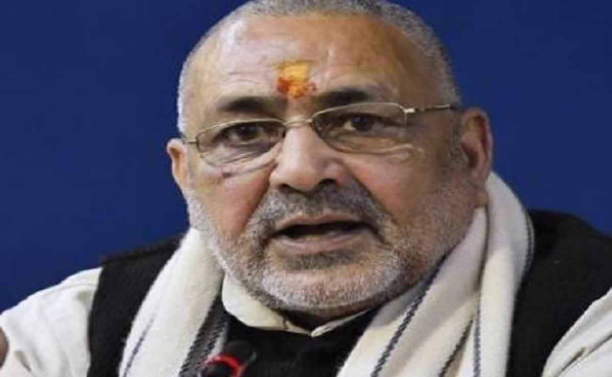 बोले गिरिराज सिंह, सीमांचल में बढ़ा है घुसपैठियों का प्रवेश