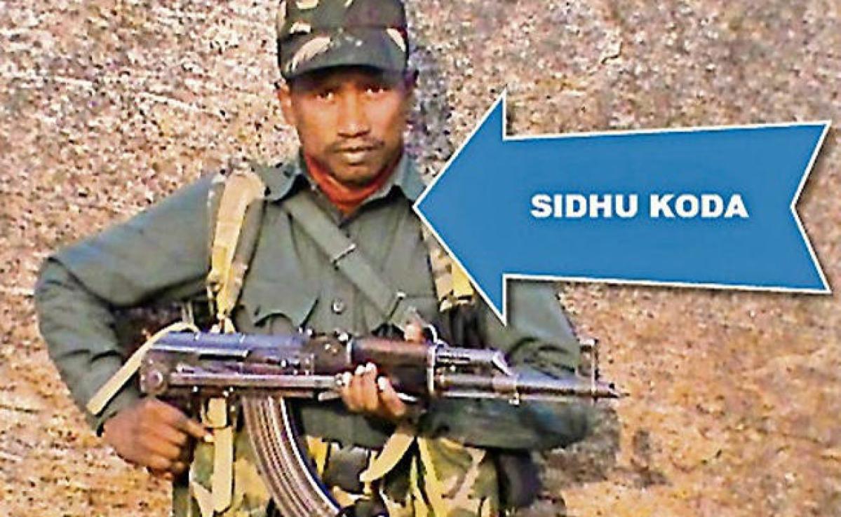 बाबूलाल मरांडी के बेटे व CRPF के सहायक कमांडेंट की हत्या में शामिल कुख्यात नक्सली सिदो कोड़ा की मौत