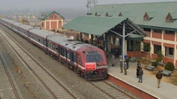 وادی کشمیر کا ایک ریلوے اسٹیشن