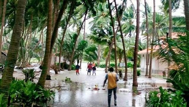 سیلاب زدہ علاقہ