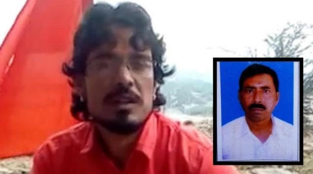 تصویر: مہلوک افروز (ان سیٹ میں) اور قتل کا ملزم شمبھو لال ریگر